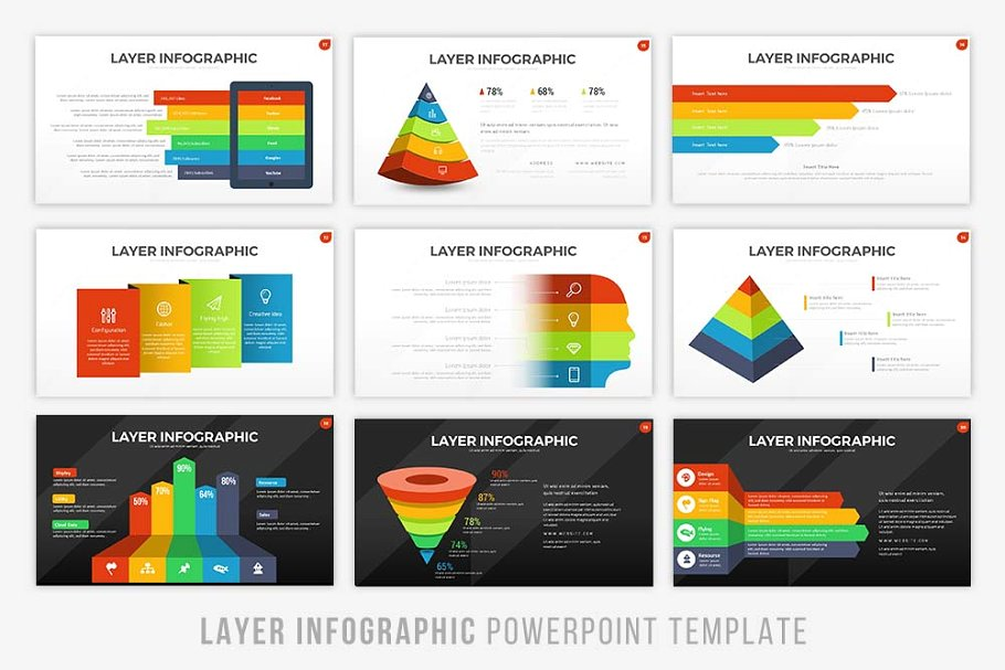 Layer - Infographic Presentation Template