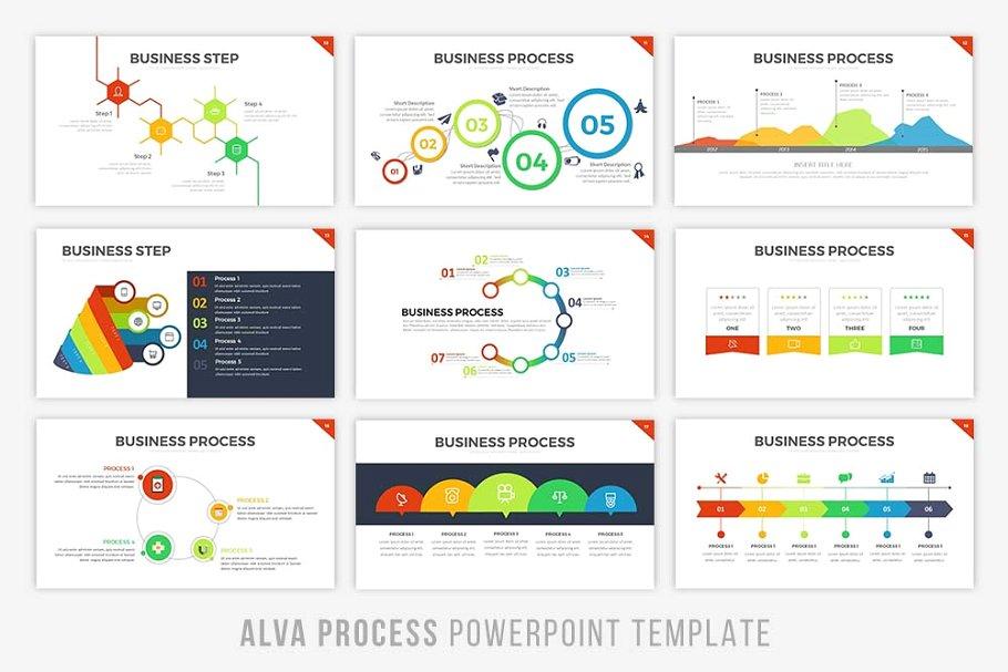 Alva Infographic PowerPoint Template