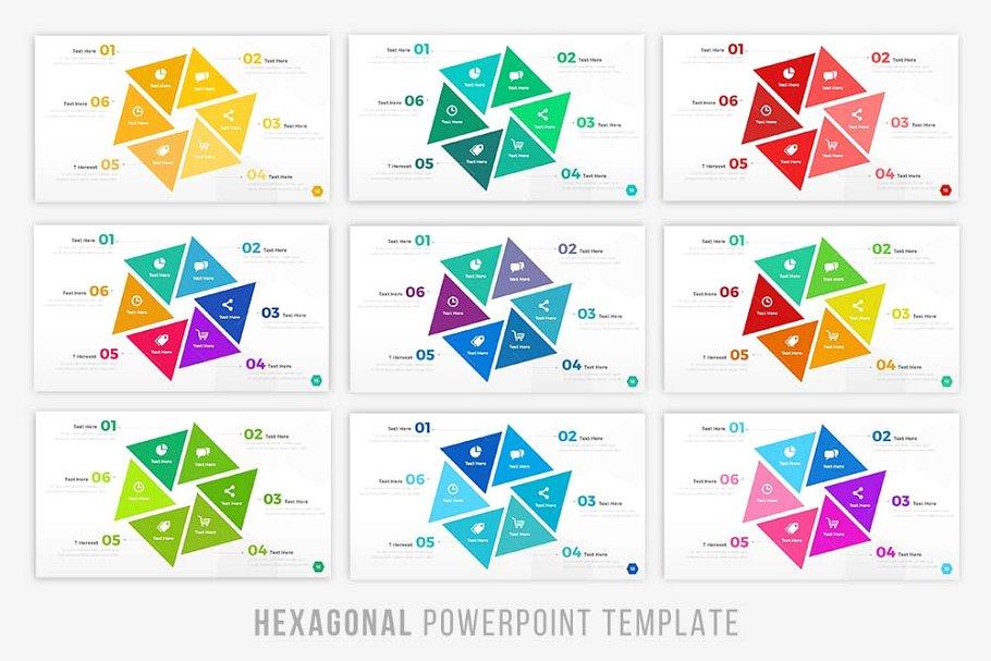 Hexagonal - Infographic Presentation Template