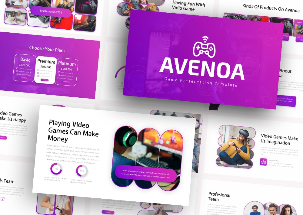 Free Avenoa Technology PowerPoint