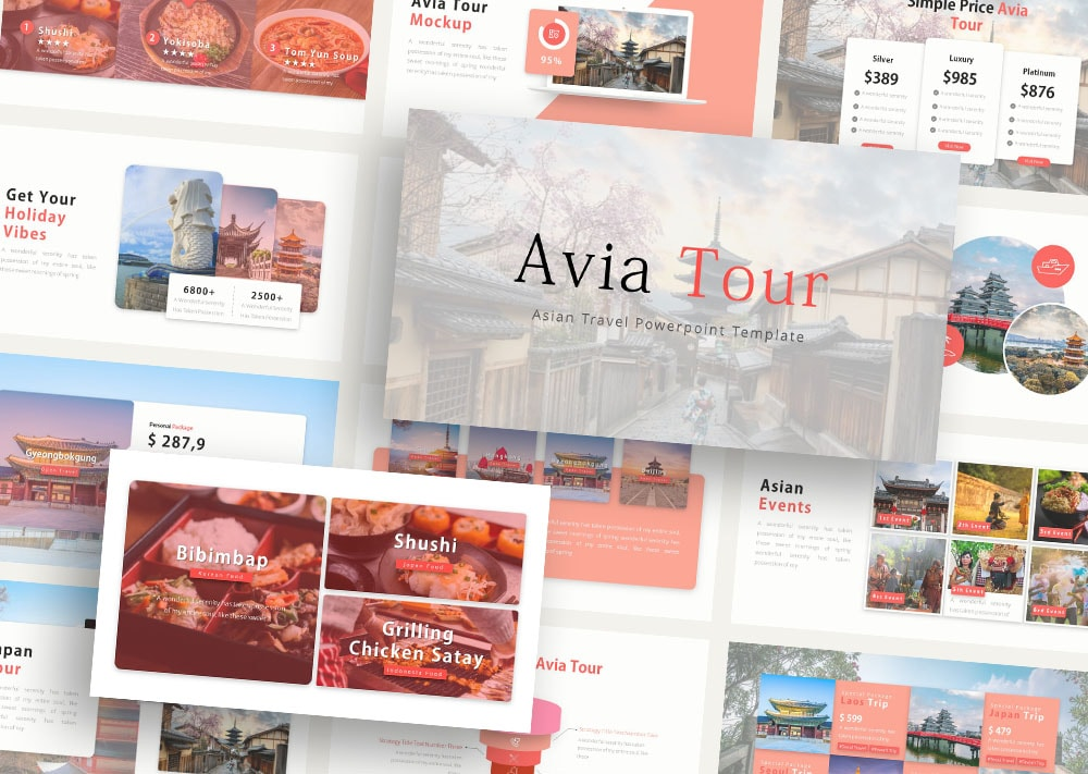 Free Avia Travelling PowerPoint