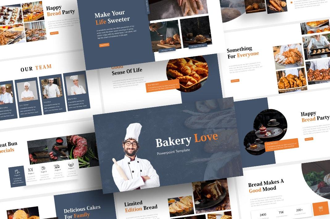 Free Bread Bakery PowerPoint Template