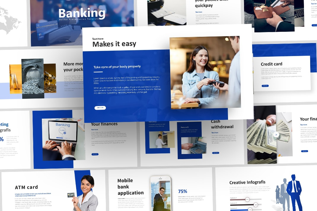 Free Banker Finance PowerPoint