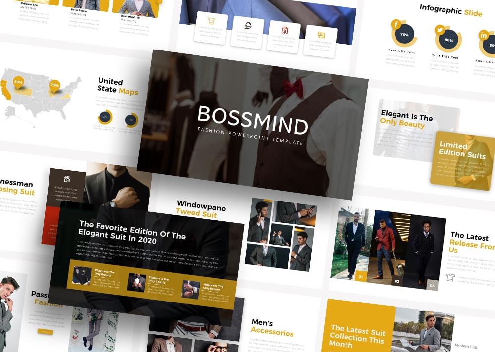 Free Bossmind Fashion PowerPoint