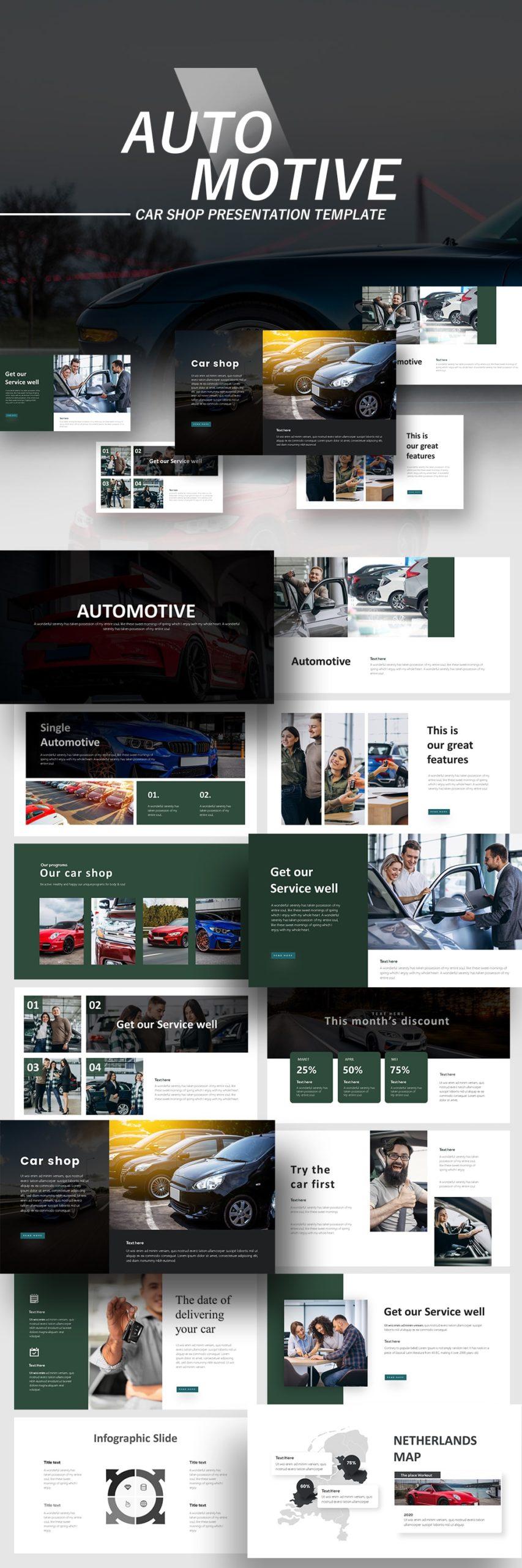 Free Automotive PowerPoint