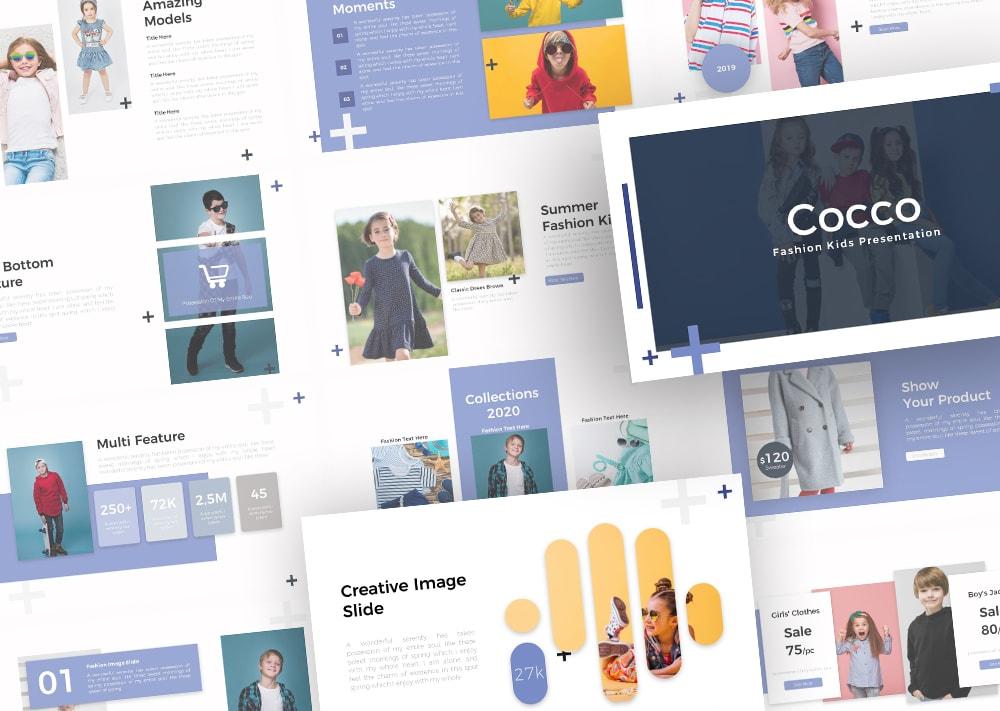 Free Cocco Fashion PowerPoint