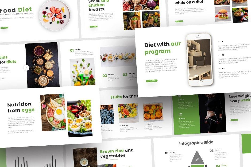 Free Nutrition Food PowerPoint