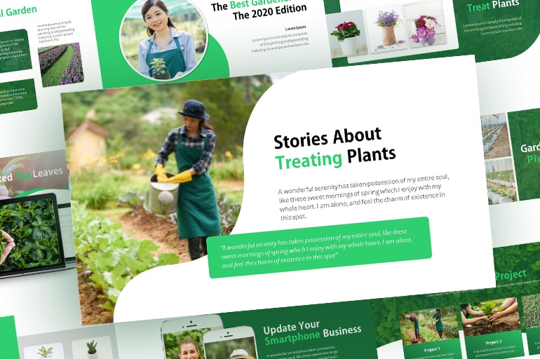 Free Fresh Nature PowerPoint