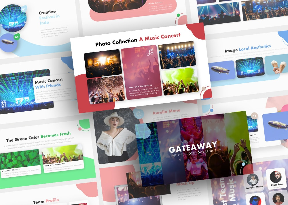 Free Gateaway Music PowerPoint