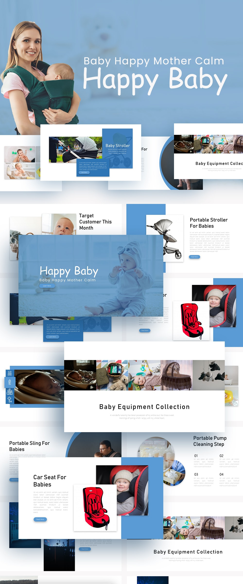 Free Baby Tech PowerPoint