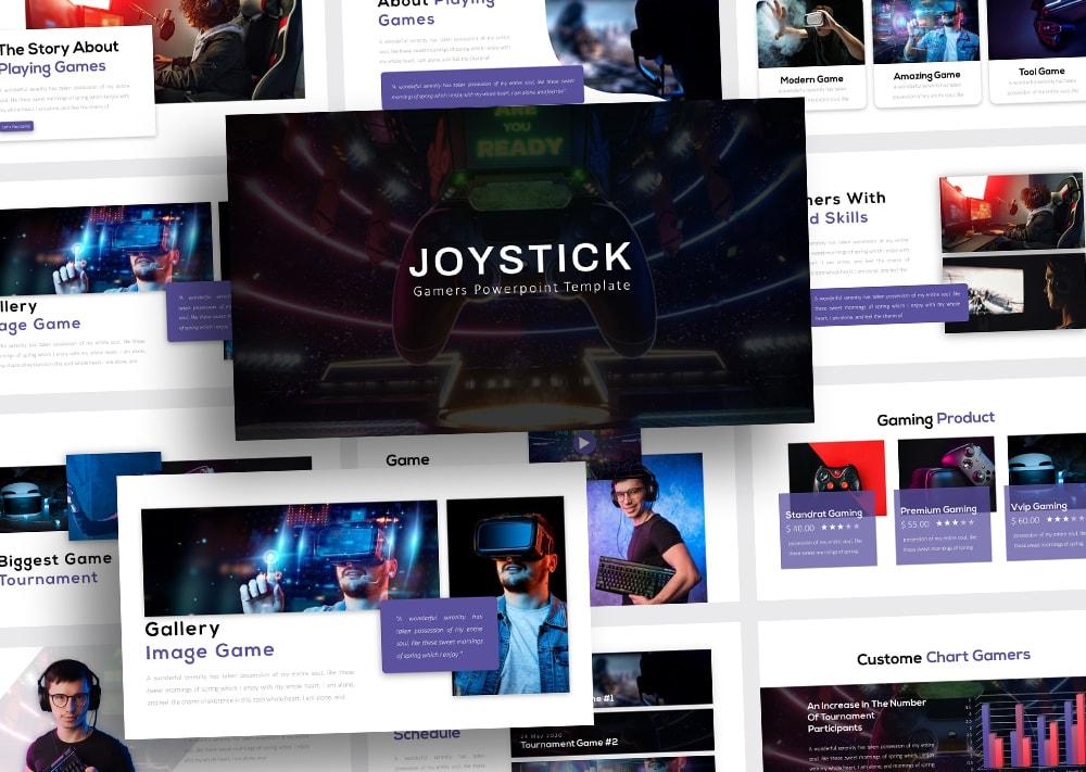 Free Joystick Technology PowerPoint