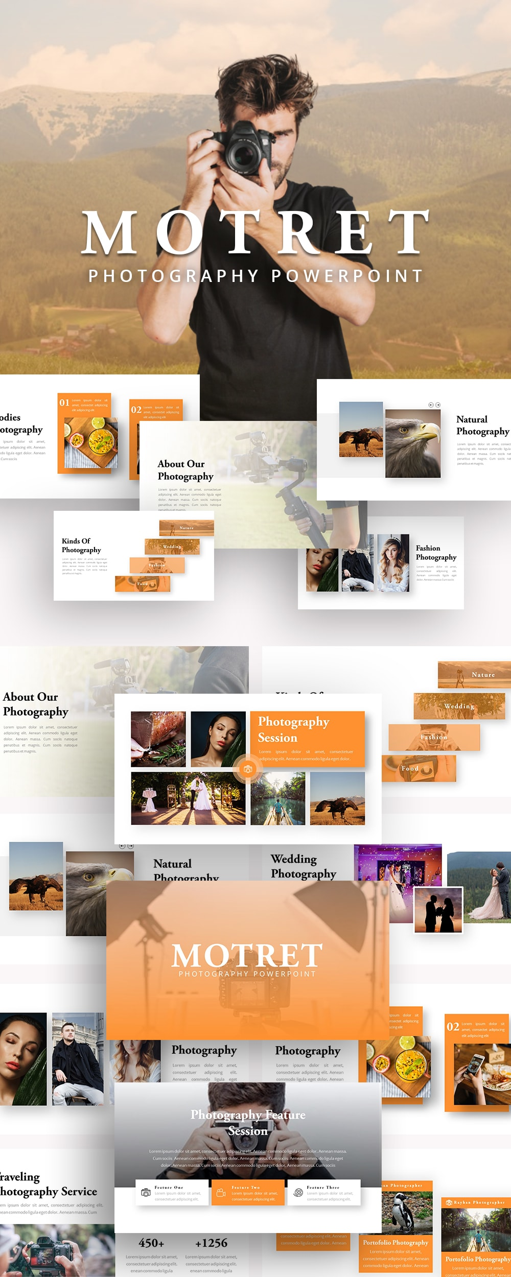 Free Motret Photography PowerPoint
