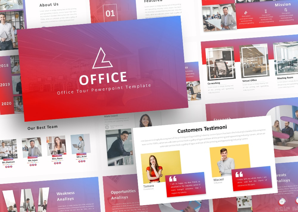Free Office Startup PowerPoint