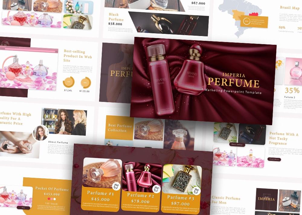 Free Imperia Perfume PowerPoint