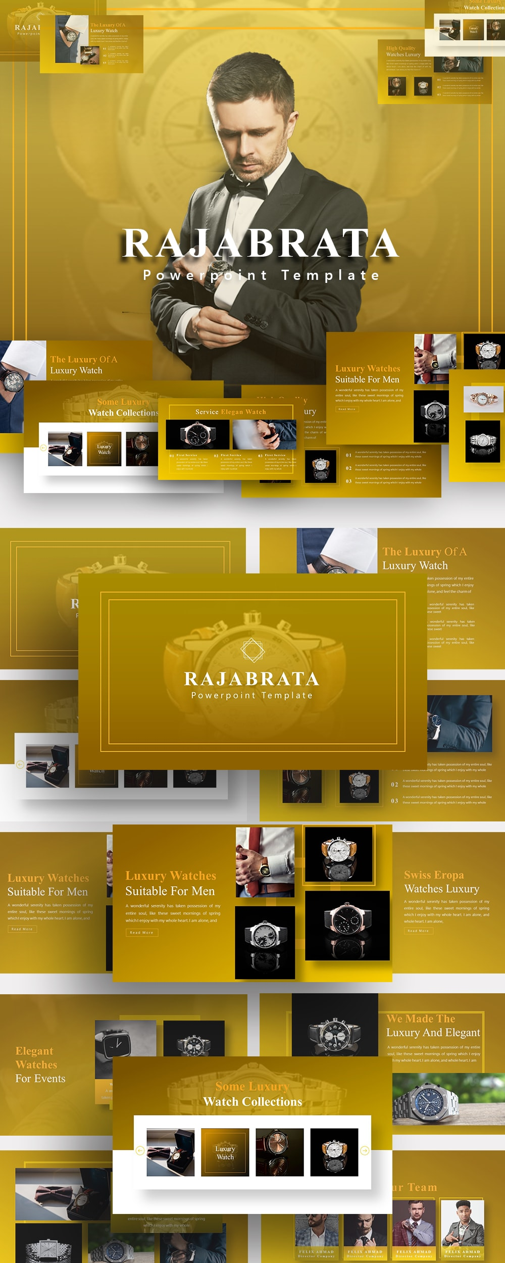 Free Rajabrata Watch PowerPoint