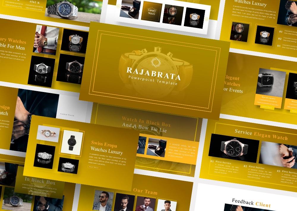 Free Rajabrata Watch PowerPoint
