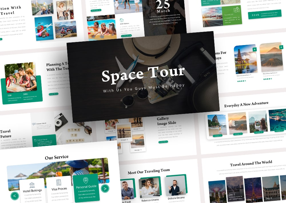 Free Space Tour PowerPoint