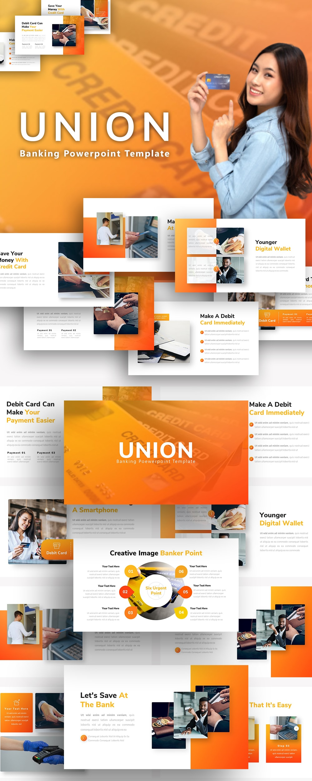 Free Union Banking PowerPoint