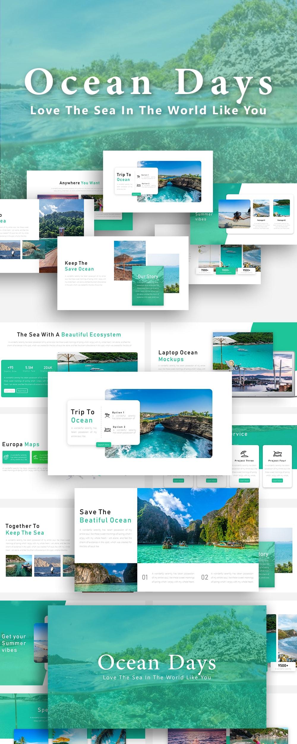 Free Ocean PowerPoint