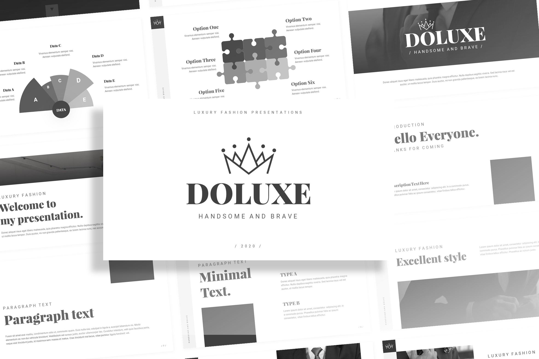 Doluxe – Luxury Fashion Presentation Template