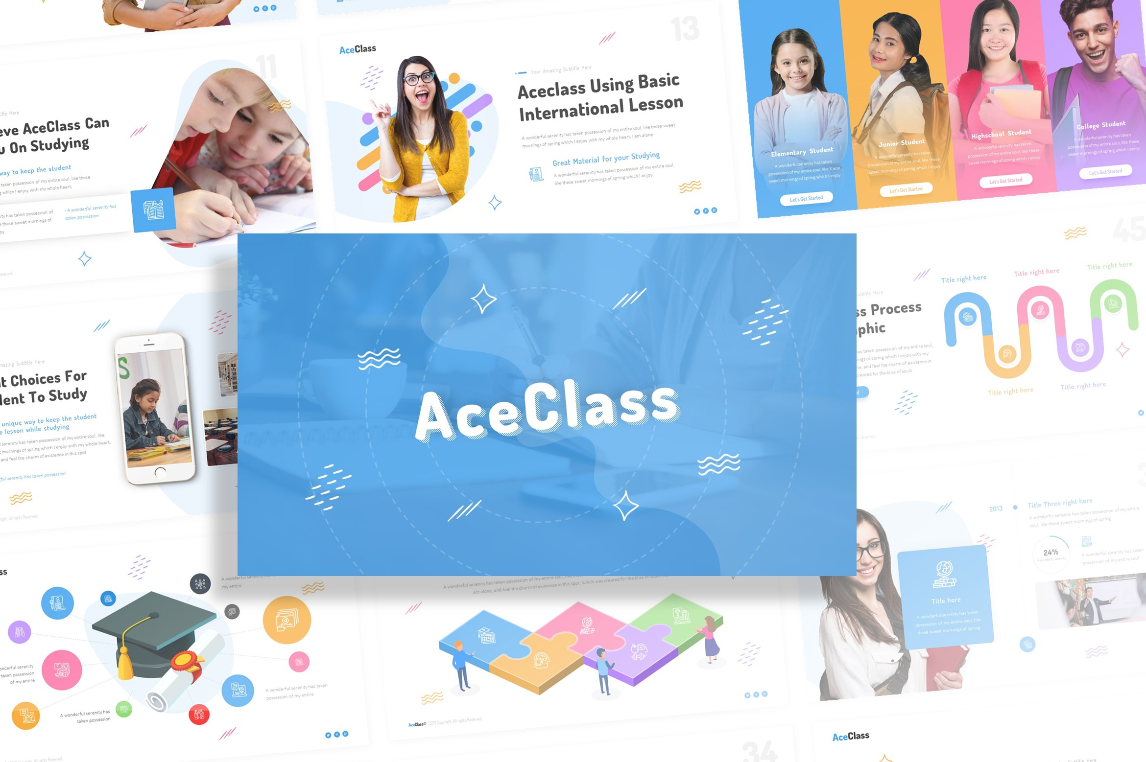 AceClass Education PowerPoint
