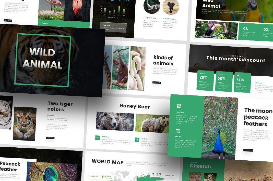 Free Wildlife Nature PowerPoint