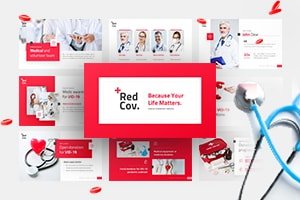 Redcov Coronavirus PowerPoint Template