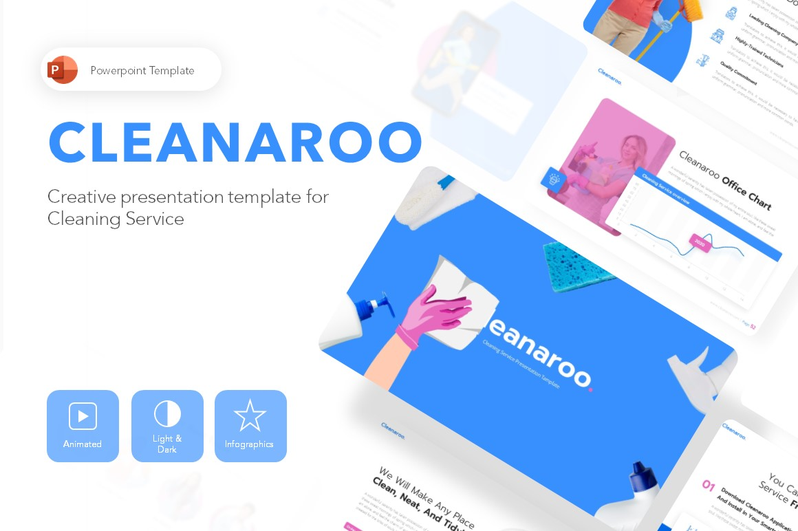 Cleanaroo Business PowerPoint