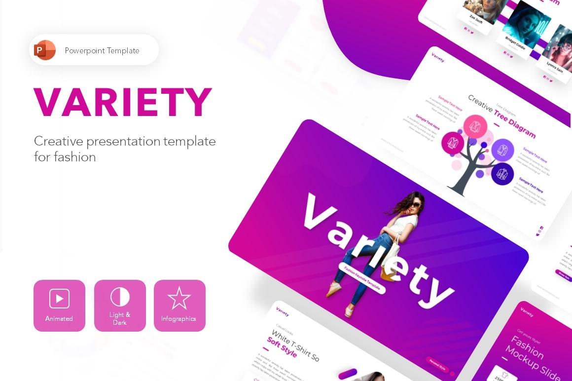 Variety Fashion PowerPoint