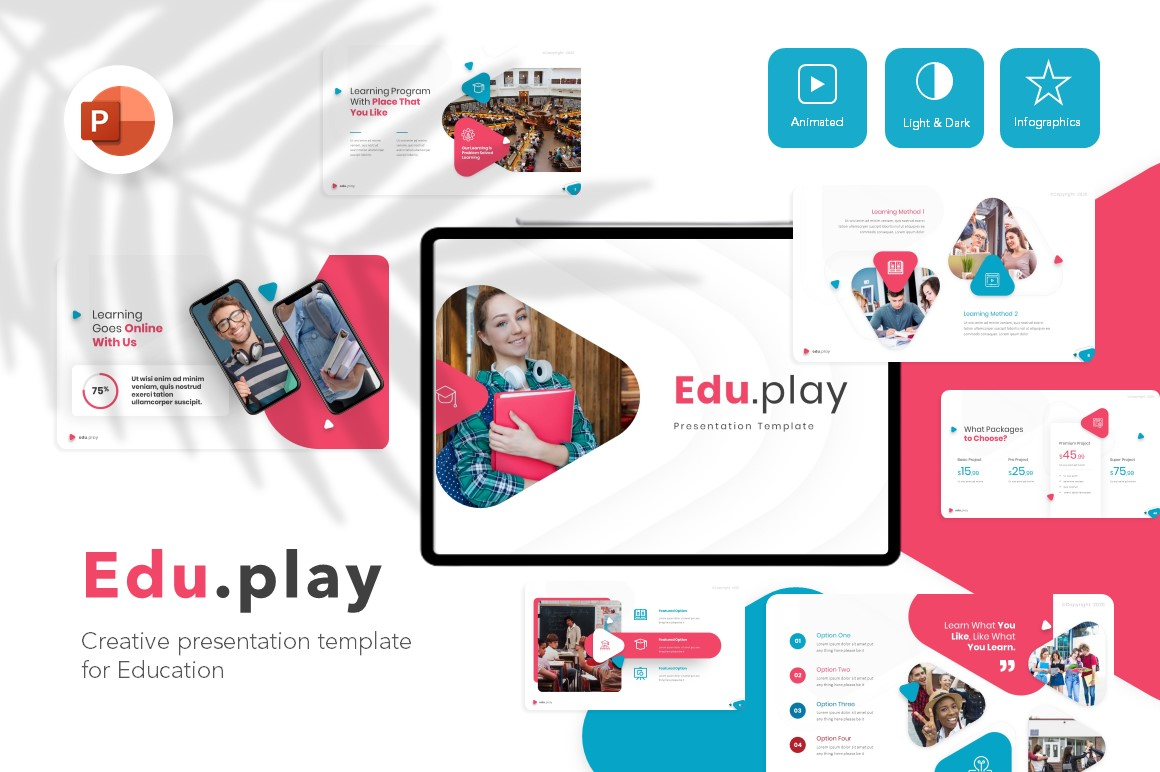 Eduplay Education PowerPoint