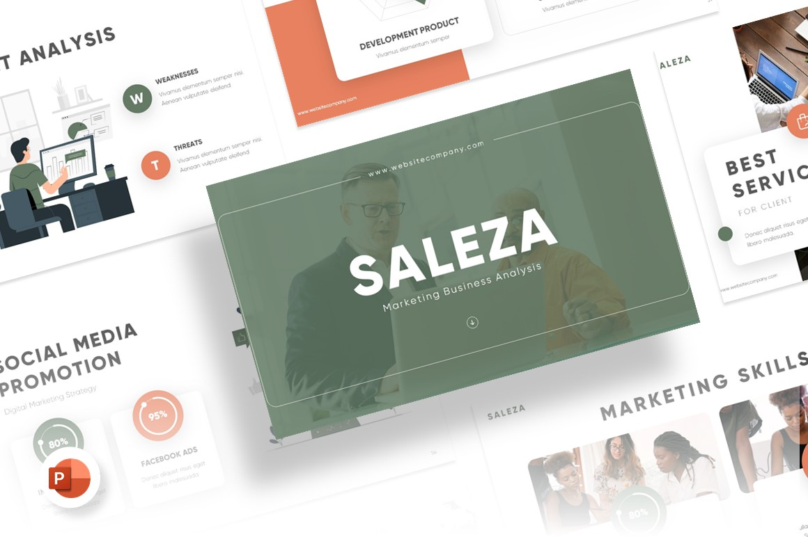 Saleza Sales PowerPoint