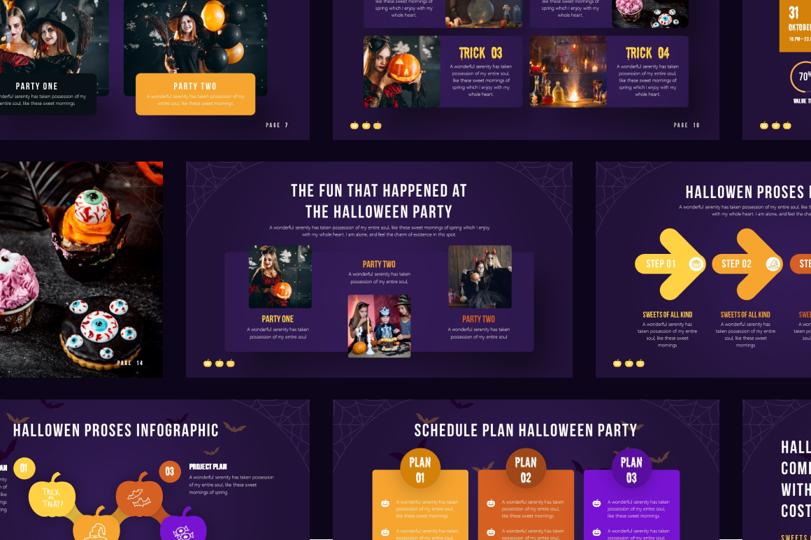 Halloween Party PowerPoint