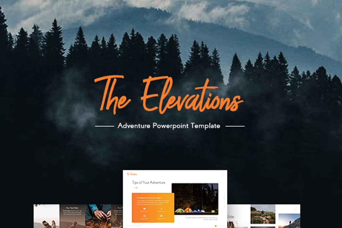 The Elevations – Camping Presentation Template