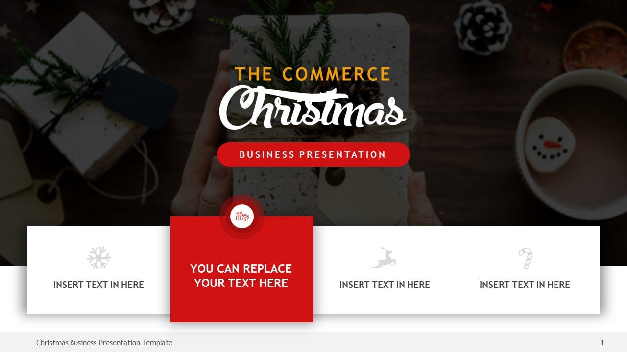 Christmas Business Presentation Template