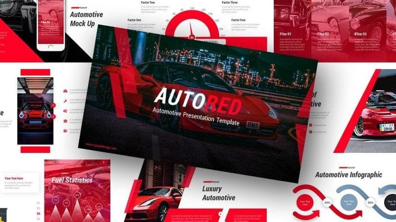 Free-Auto-Red-Presentation-Template-Thum 2-min