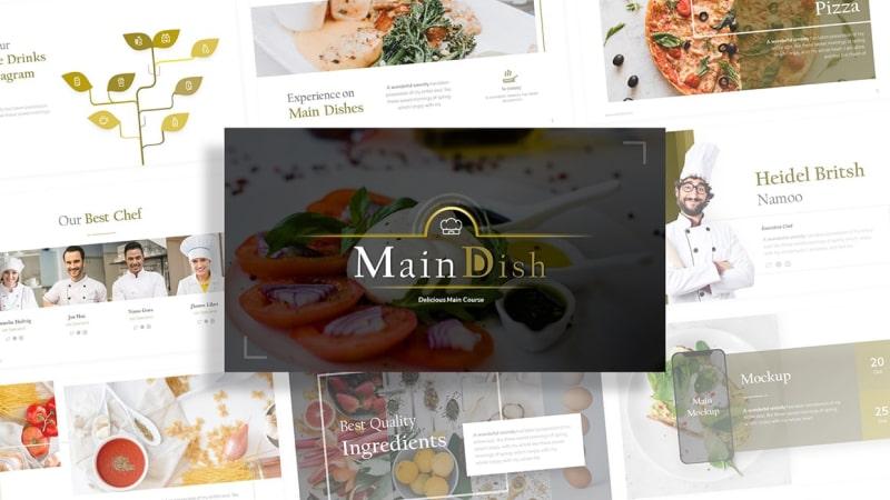 Maindish-Restaurant-PowerPoint-Template