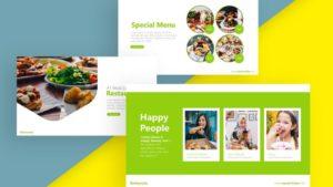 Restaurant Culinary PowerPoint Template 2-min