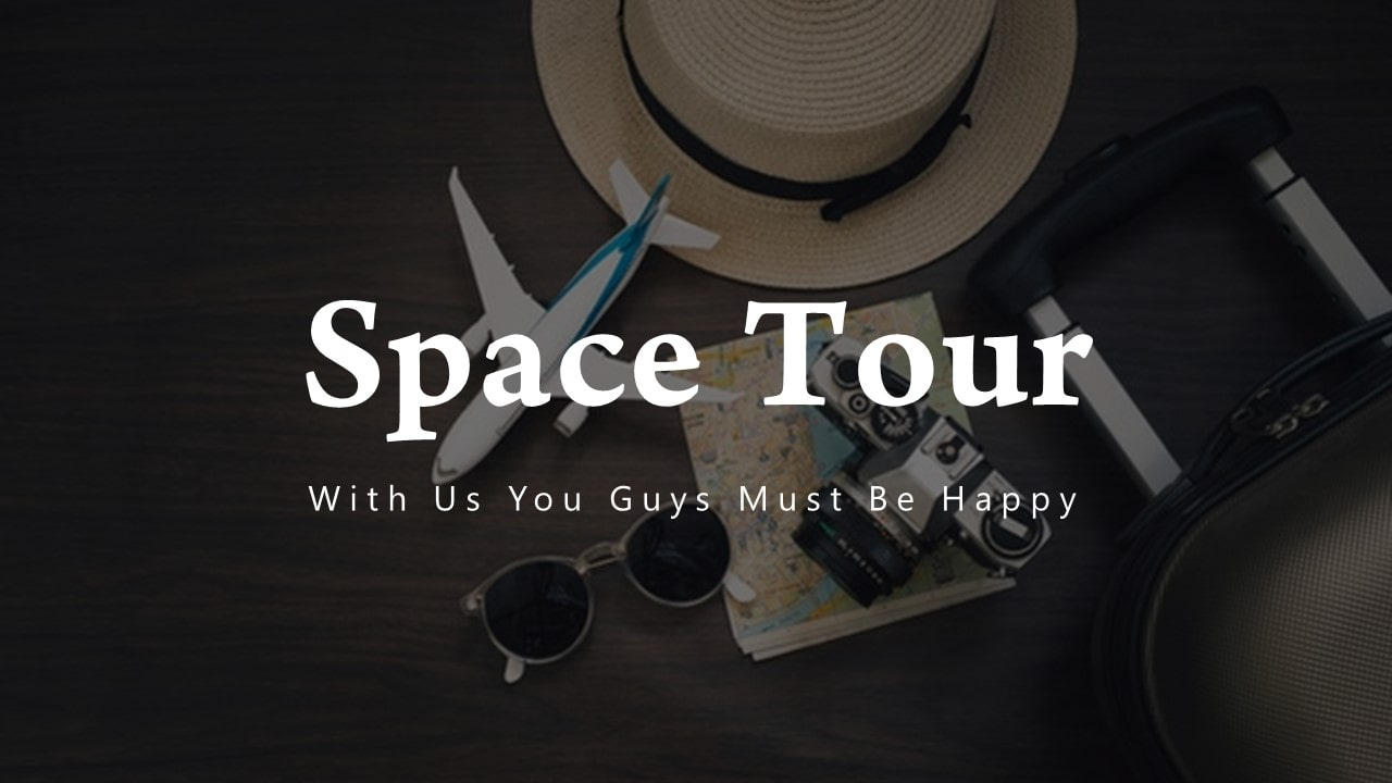 Free Space Tour PowerPoint Template