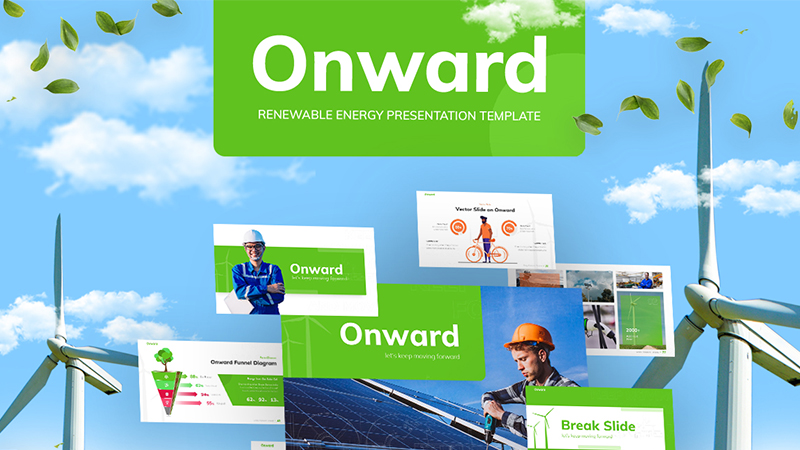 Onward Renewable PowerPoint Template