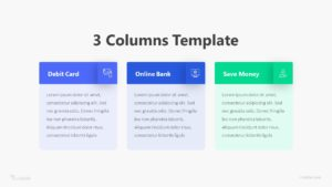 3 Columns Slide Infographic Template