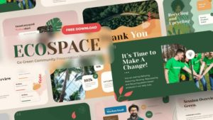 Ecospace Nature Powerpoint Template