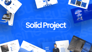Solid Project Business Presentation Template