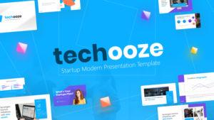 Techooze Startup PowerPoint Template