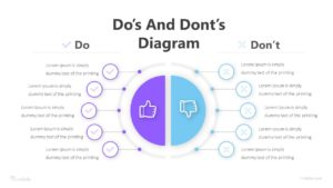 2 Do's And Dont's Diagram Infographic Template