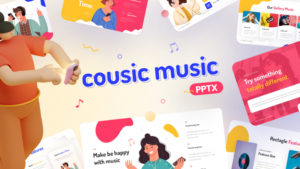 Cousic Music Event PowerPoint Template