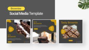 Brownies Social Media Template