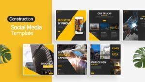 Architecture Building Social Media Template