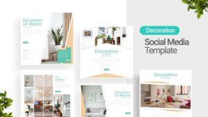 Decoration Room Social Media Template