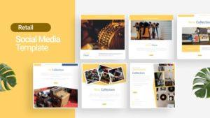 Retail Social Media Template