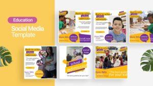 School Admission Social Media Template